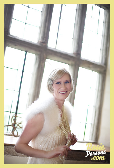 One Fine Flapper Bride! Vicky...