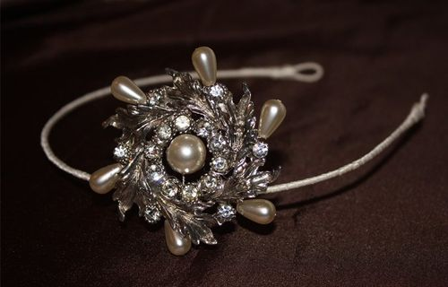 Jo Barnes Vintage Headpieces Accessories Love My Dress Wedding Blog A