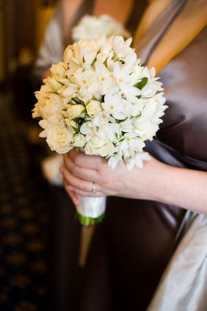 Seasonal Spring flowers for a Spring Wedding....
